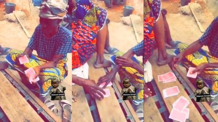 Video of two grannies playing cards like pros go viral
