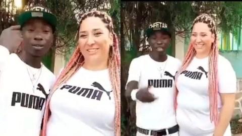 Video: Patapaa's Wife Teaches Him German Language