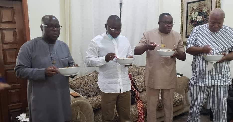 ndc big men enjoy aponkye light soup