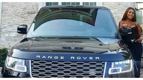 Richest Blogger In Nigeria? Linda Ikeji Acquires 2020 Range Rover Autobiography (Photo)