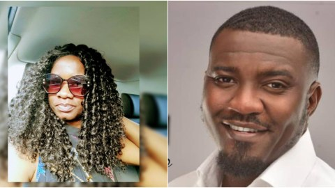 More Vim For John Dumelo As Sarkodie's Sister Throws Weight Behind Him, See What She Told Ghanaians To Do For Him