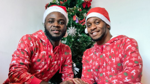"""Gay Nigerian Man Shares """"How it started vs how it's going' with his boyfriend"""