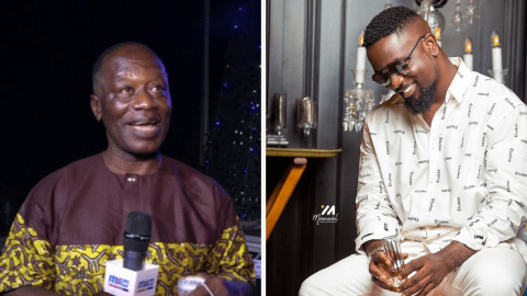 Sarkodie's Father on why he chose the name 'Micheal' for him