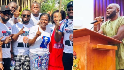 'Small Brains, How Can I Support The NPP And NDC At The Same Time'- Prince David Osei Loses His Cool