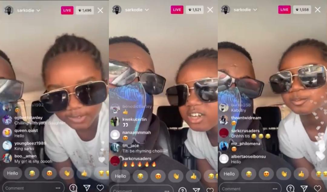 Sarkodie's Daughter Titi, Raps For The First Time On An Instrumental And It  Is On Point (Video) » GhBase•com™
