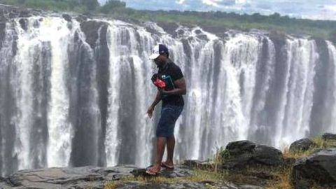 Tourist Falls 350 Feet To His Death At Victoria Falls After Going Near The Edge Of Waterfalls To Take Photos