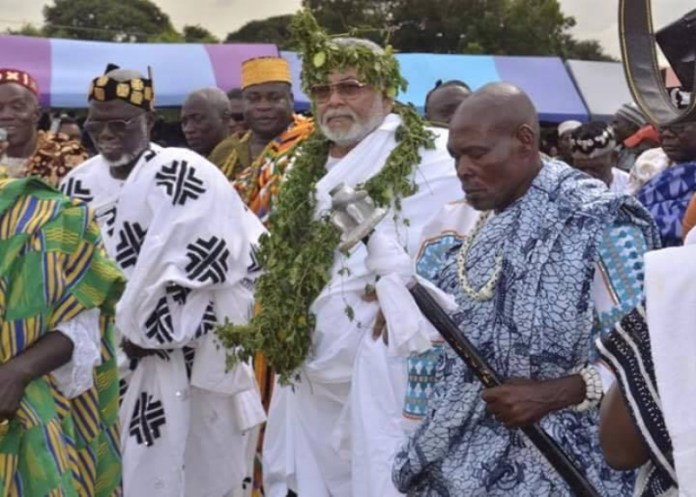 Anlo traditional area to organise Rawlings' funeral separately without body