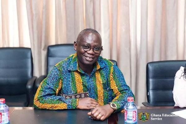 Director-General of the Ghana Education Service Prof. Kwasi Opoku-Amankwa