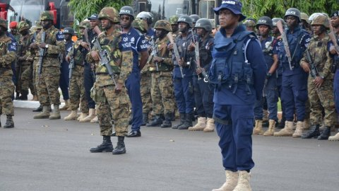 Over 6,000 security personnel to be deployed for swearing-in ceremony of Akufo-Addo and Bawumia
