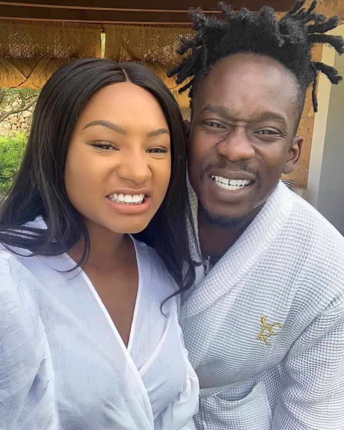 """I don't money and time but I have you"" – Mr Eazi makes girlfriend Temi Otedola blush"