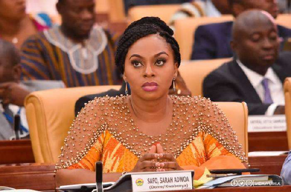 I didn't vote against Mike Oquaye, disregard false claims – MP Adwoa Safo clears air