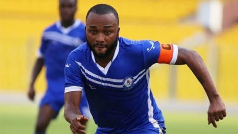 Gladson Awako wins NASCO Player of the month of December