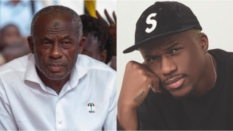 Ghanaians Ask Joey B To Question His Mother About Who His Real Father Is After His 'Lookalike Father' Was Found- Photos