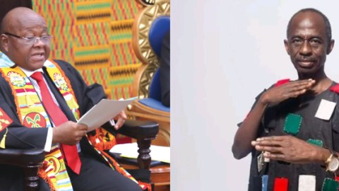 """Video: """"Mike Ocquaye is too weak and cannot even walk to parliament"""" – Aseidu Nketia reveals"""