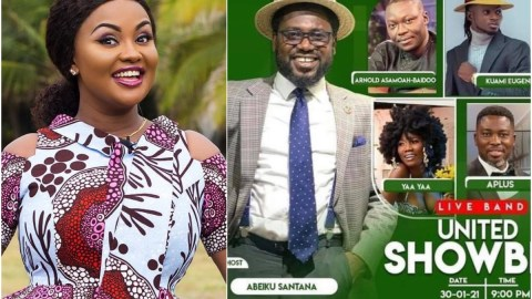 Nana Ama Mcbrown Allegedly Given 'The Back Seat' After Abeiku Santana Was Asked To Host Her United Showbiz Programme This Weekend