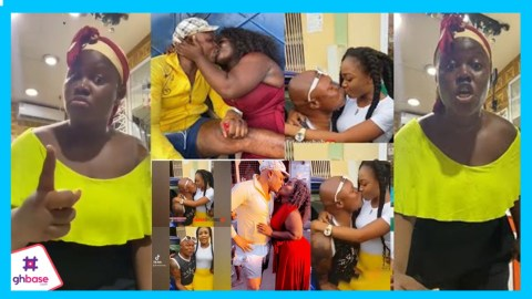 (+VIDEO) Keep Your D!rty Fingers Off My Man Or Face The Consequences! – Queen Peezy Warns Akuapem Poloo