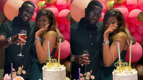 Sarkodie Surprises Beautiful Female Sark Native During Her Birthday Party And Her Reaction Is Everything- Watch Video