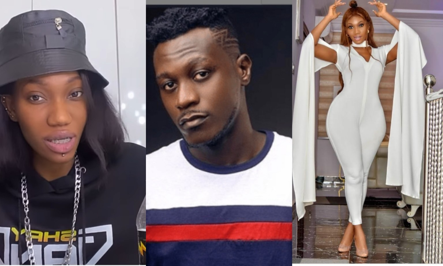 """""""The worst will be done to your daughter"""" – Wendy Shay claps back at Keche Joshua for saying he is depressed and o drugs"""