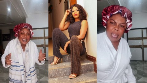 (+VIDEO) My Clean Heart And Good Deeds Have Exposed You And Vindicated Me! – Afia Schwarzenegger Mocks Mzbel