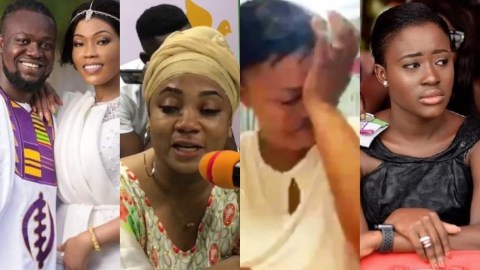 I Couldn't Eat After Hearing The Sad News – Vicky Zugah And Others React To The Death Of Eddie Nartey's Wife