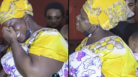 VIDEO: Her Father Gave Her Money To Start A Business – Ama Broni's Mother Reveals As She Weeps Uncontrollably