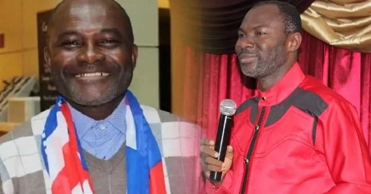 Prophet Emmanuel Badu Kobi and Kennedy Agyapong