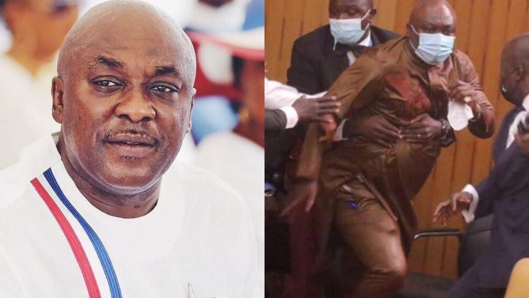 """""""I enjoy the fact that I am trending"""" – Carlos Ahenkorah reacts to 'kung fu' style snatching of ballot box and papers in parliament"""