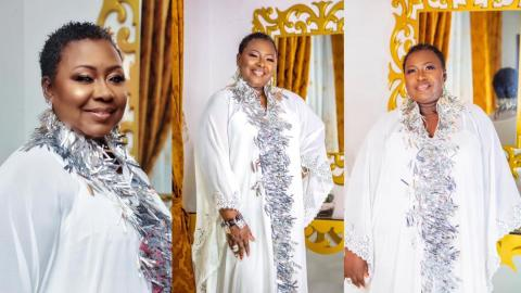 Oheneyere Gifty Anti shares stunning photos and powerful message to mark 51st birthday