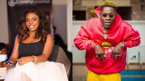 Nana Aba Anamoah Reacts After Shatta Wale Called To Ask Her The Last Time She Had Seks