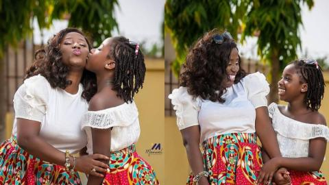My Daughter Wants To Take Over From Me – Diana Antwi Hamilton Reveals Alongside Photos Stunning Of Her