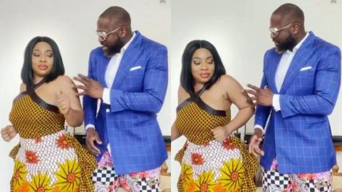 Moesha Budoung And Elikem Kumodzie Gives A 'Top Notch' Performance With Their Slow-Mo Challenge