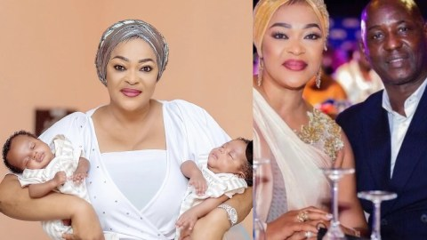 Actress Kalsoume And Husband, Anthony Baffoe Welcome A Set Of Twins?- Photos