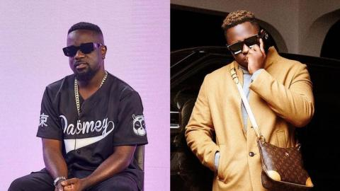 Sarkodie Fans Clap Back After Twitter Trolled Him Because Medikal Bought An Expensive Necklace