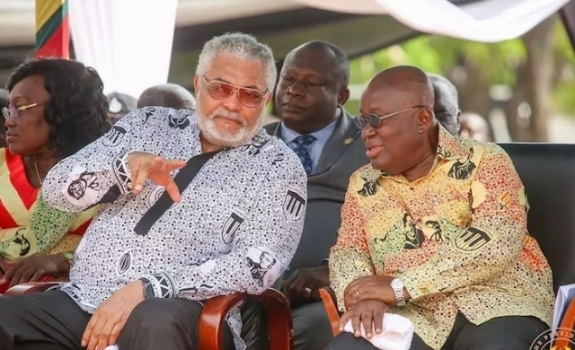 """""""The relationship between us was of animosity and dislike"""" –Prez Akufo-Addo says in his tribute to Rawlings"""