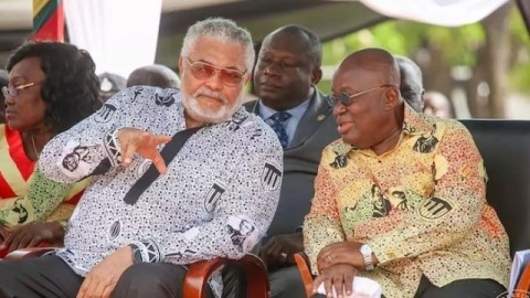 """""""The relationship between us was of animosity and dislike"""" – Prez Akufo-Addo says in his tribute to Rawlings"""
