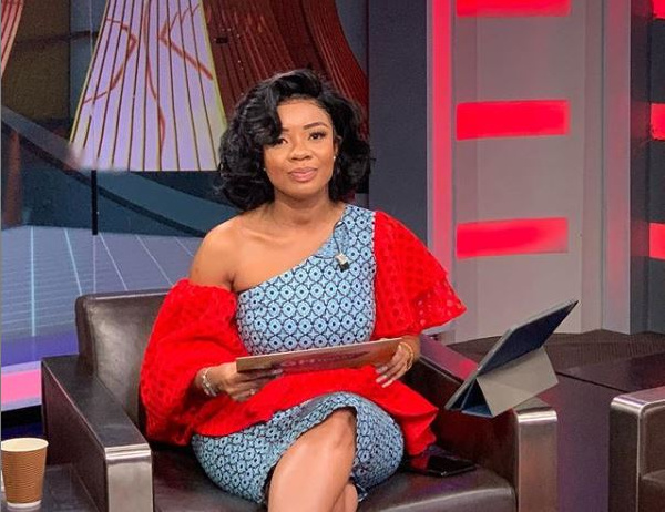 Serwaa Amihere asks fans to help her with job opportunities