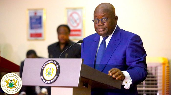 Akufo Addo on state of the nation