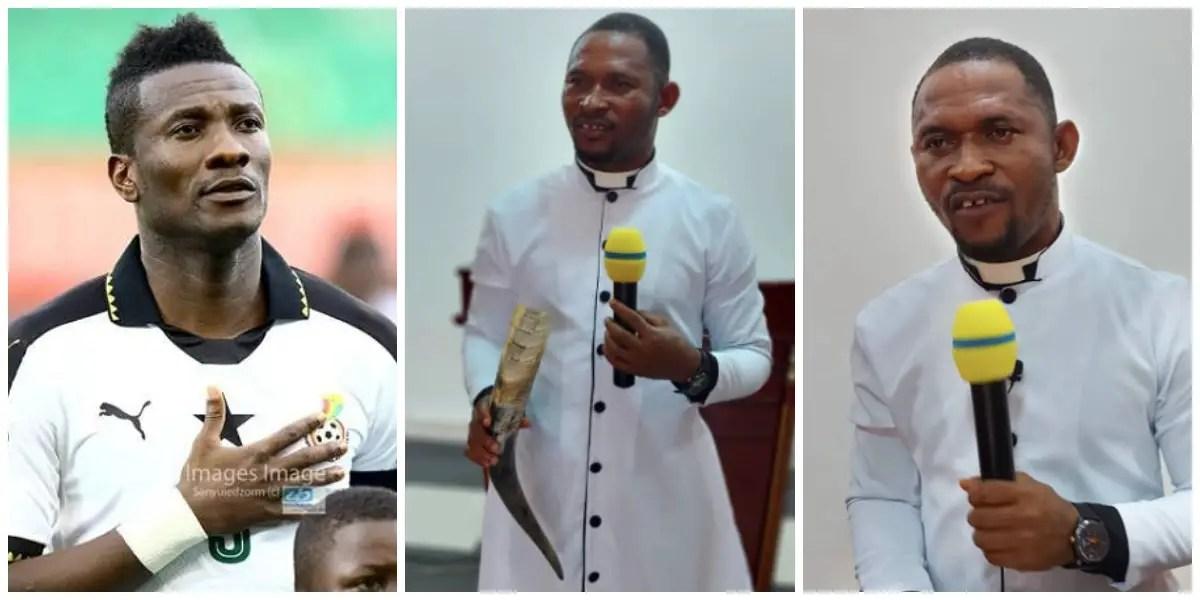 Prophet Peter Aklah fires Asamoah Gyan