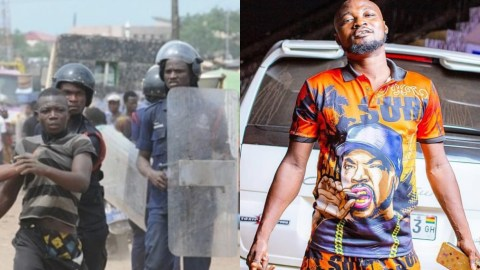"""We Used """"Minimum"""" Force After He Tried To Resist Arrest – The Police Finally Speak About Funny Face's Arrest"""