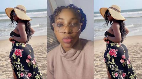 """""""My backside is coming out and I am ready to compete with Hajia Bintu"""" – Lady"""