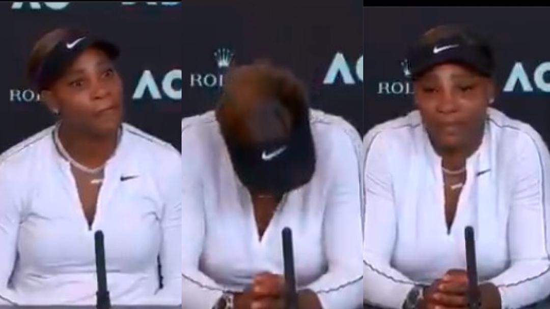 """""""I am done"""" – Watch Serena Williams leave pressroom in tears after semi-final loss to Naomi Osaka [Video]"""