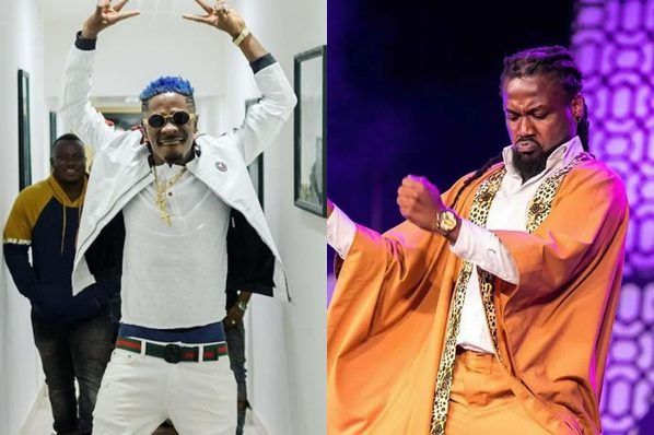 Shatta Wale and Samini are having a go at each other as they look forward to starting what could be described as the biggest beef in Ghana.
