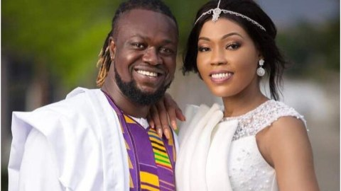 'I Can't Sleep, My Heart Bleeds'- Eddie Nartey Continues To Cry Over Wife's Death