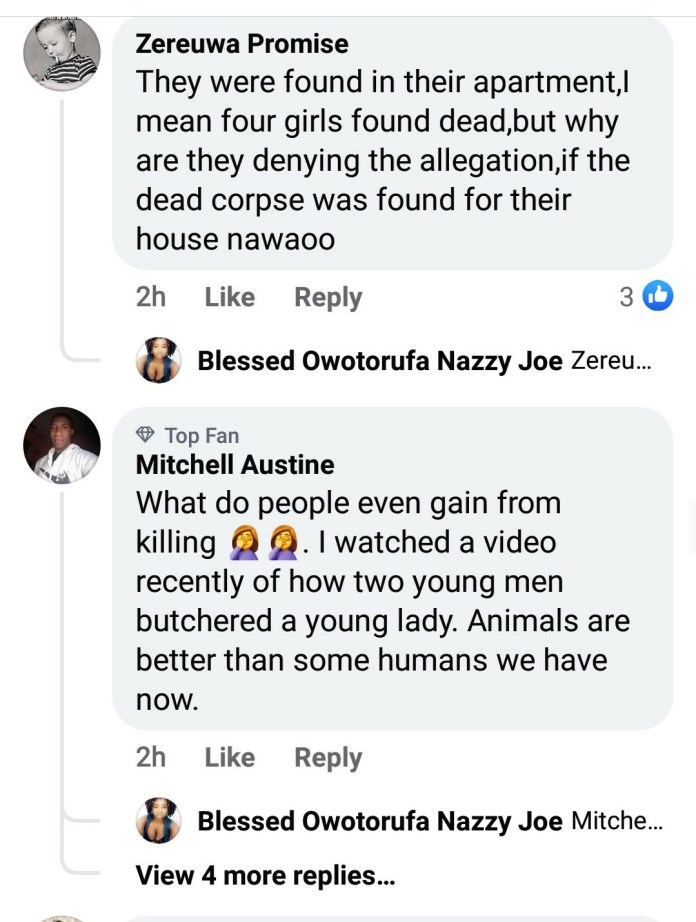 Nigerians React After Court In Ghana Sentenced Two Nigerians To Death By Hanging For Kidnapping And Killing Four Girls 4