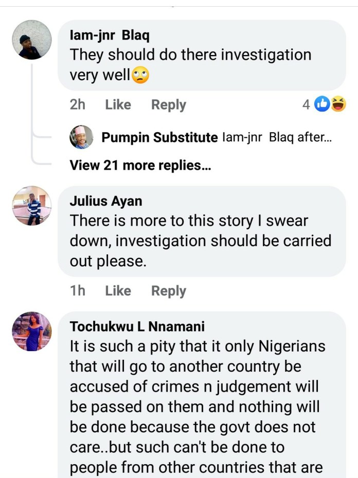 Nigerians React After Court In Ghana Sentenced Two Nigerians To Death By Hanging For Kidnapping And Killing Four Girls 8