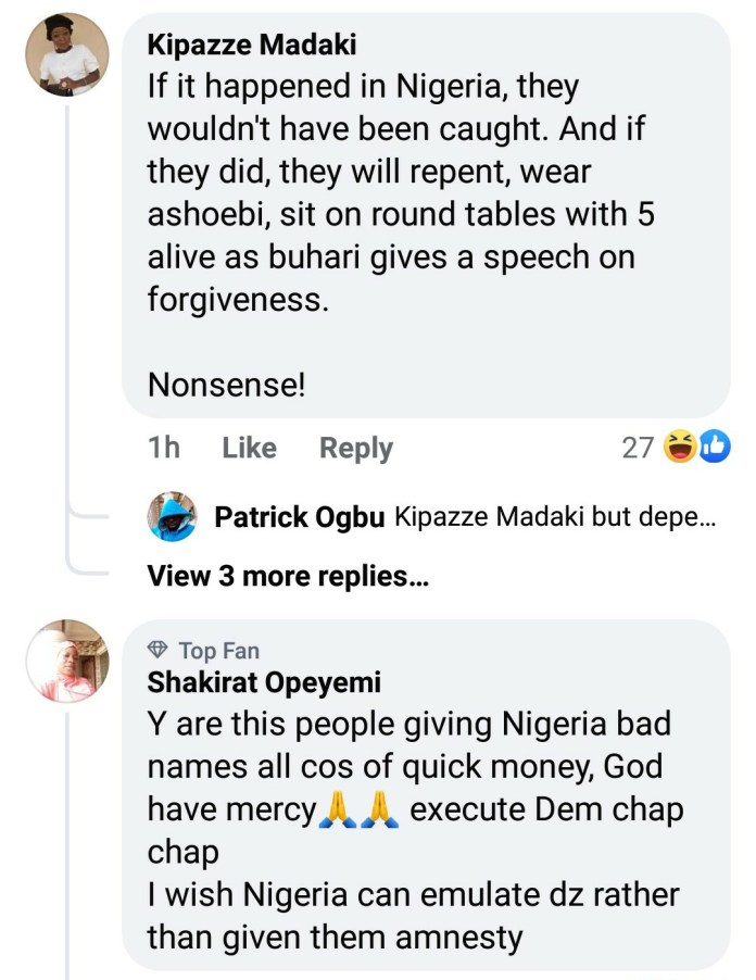 Nigerians React After Court In Ghana Sentenced Two Nigerians To Death By Hanging For Kidnapping And Killing Four Girls 5