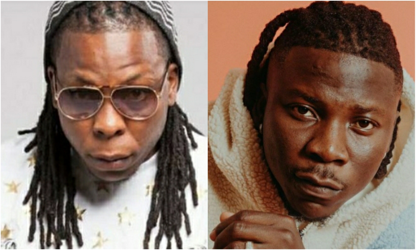 Shining Ewe Men Like You and Stonebwoy Keep falling Into The Trap of Marrying Akan Ladies – Fan Tells Ayigbe Edem