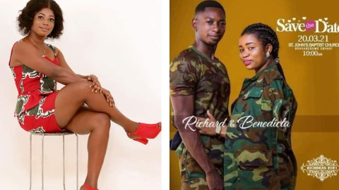 More Drama As Friends Of Comfort Blissgh Promise To Cause Mayhem At The Wedding Of Her Ex- Boyfriend Who Duped Her Of 8000 Cedis