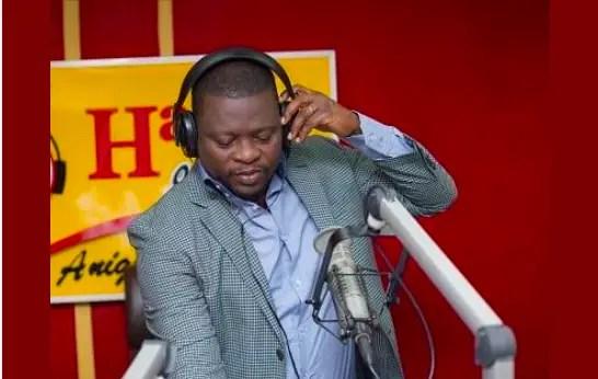 DJ Adviser of Accra-based Happy FM is dead.