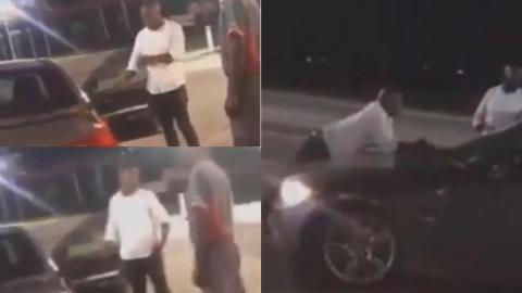 Drama: Side chick embarrassed as sugar daddy publicly collects back car he bought for her [Video]